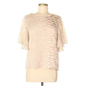 Gorgeous Gibson Latimer eggshell beige blouse -M